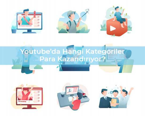 Youtubeda Hangi Kategoriler Para Kazandırır